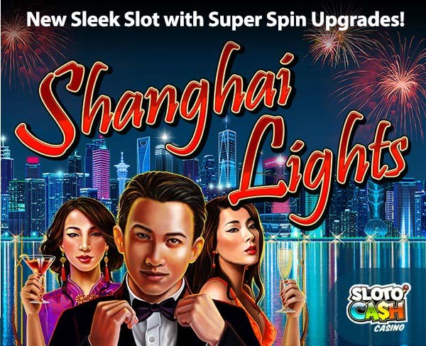 Sloto'Cash Shanghai Lights