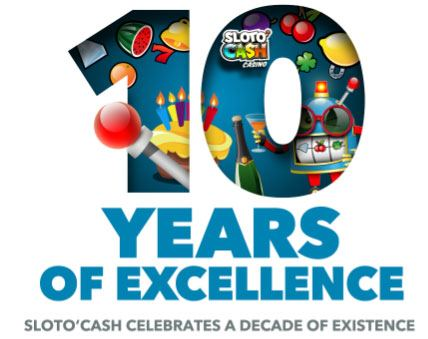 Sloto'Cash 10 Years Anniversary