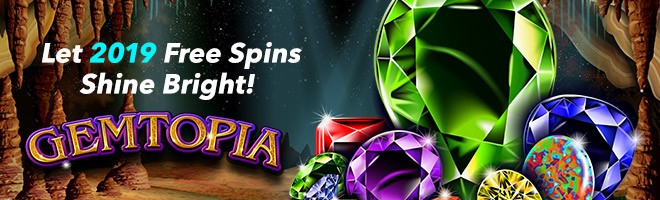 Let 2019 Free Spins Shine Bright!