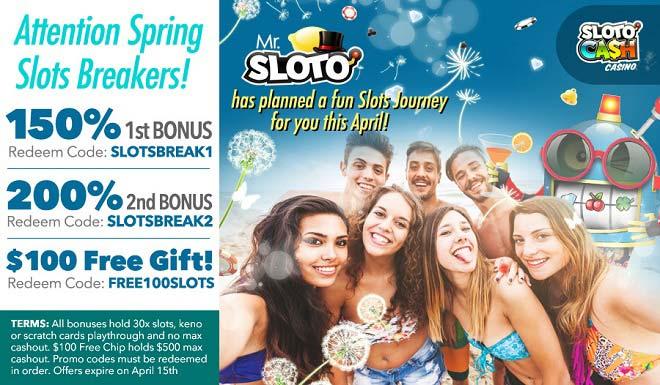 Sloto'Cash Free Bonus