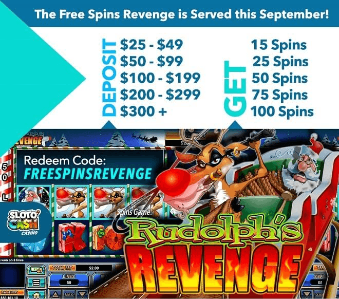 The Free Spins Revenge is Served