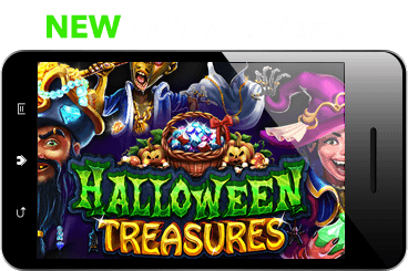 Sloto'Cash Halloween Treasures