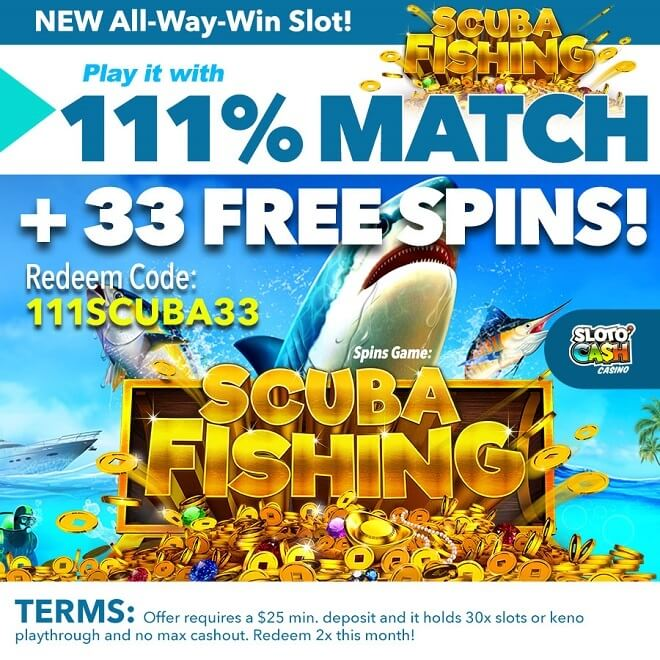 Scuba Fishing Video Slot