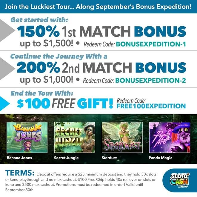 September's Bonus Expedition!