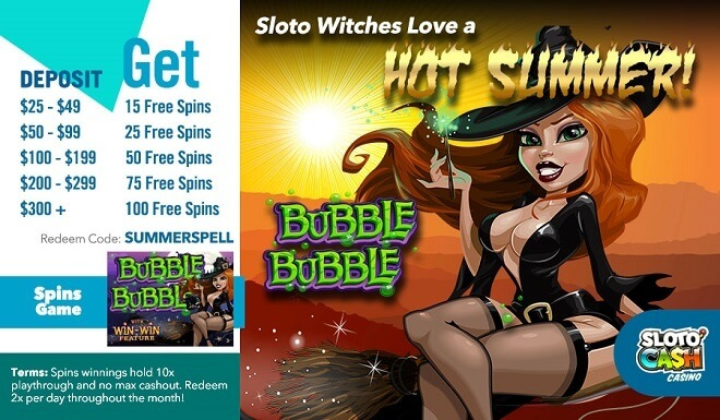 Sloto Witches Love a Hot Summer!