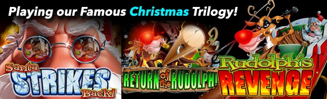 Play our Famous Christmas Trilogy